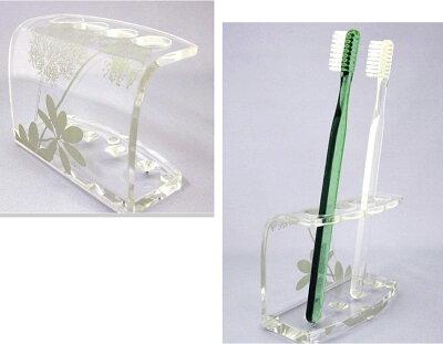 歯ブラシスタンドサリナオープンスタイルで衛生的