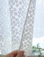 【送料無料】NEW遮熱出来る★2重『カフェカーテン』セミロング縦約60cm小窓用【HLS_DU】