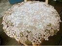 ★カフェカーテンとトータルで飾りたい『ドイリー』丸いテーブルセンター30cmテーブルの真ん中に 小さく置くだけだから拘りたい小窓用