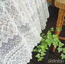 あす楽☆【送料無料】刺繍と裾のカットが、綺麗【縦45cm】刺繍と裾のカ...