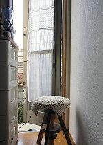 送料無料『パネルカーテン』細窓勝手口のカーテンに!2枚3枚とつなげは、間仕切りのれん。オフホワイトのおしゃれでお手頃価格。【RCP】P06Dec14【HLS_DU】