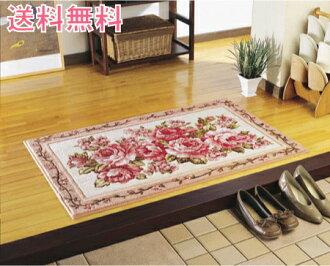 Hook style door マットスカーレット large rose pattern 10P02jun13