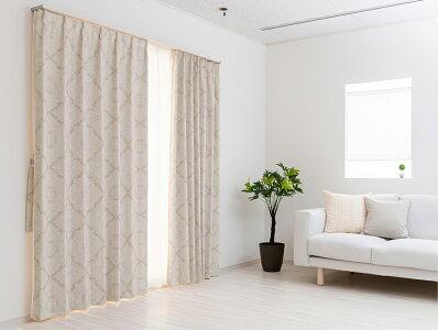 完全遮光防音カーテン/デザインにもこだわった機能性オーダーカーテン