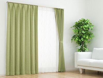 遮熱・断熱性に優れた裏地付きの遮光カーテン「ラフィネ」
