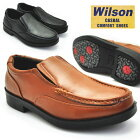 Wilson(ウイルソン)スリッポン/両側ゴム付き付/ウォーキングシューズ/超軽量/No1602