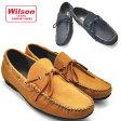 Wilson ウイルソン デモカシン/デッキシューズ/ドライビング/ローファー/スリッポン/No8803