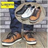 LiBERTO-EDWINリベルトエドウィンカジュアルタイプのメンズスニーカー紐靴No70303