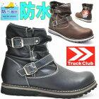 【防水】TruckClub(トラッククラブ)エンジニアブーツ/シャーリング/ショートブーツTR60488
