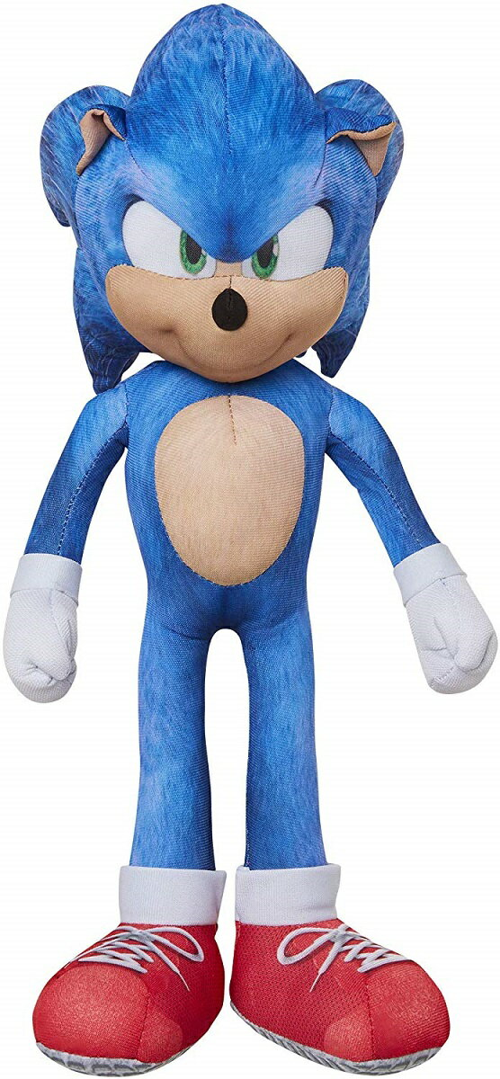 ぬいぐるみ・人形, ぬいぐるみ Sonic The Hedgehog 13 Inch Talking Sonic Plush with 10 Different Sounds 10
