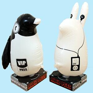 カワイイ!!ウサギとペンギンがスピーカーに!!!オーディオペット ペンギン・ウサギ