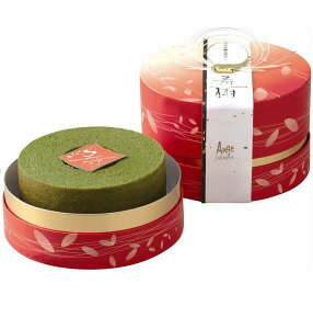 日本銘茶「八女抹茶」と「山田錦」を使って香り高く焼き上げた、原材料にこだわったバウムクー...
