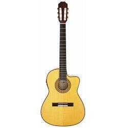 【送料込】【ライトケース付】ARIA/アリアACE-77FCEエレクトリックフラメンコクラシックギタースペイン製【smtb-TK】