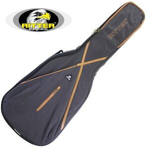 RITTER/リッター RGS7-DEP/MGB アコースティックギター用 ギグバッグ 大容量サイドポケット付