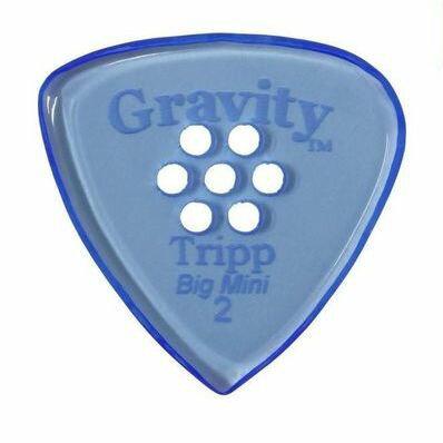 アクセサリー・パーツ, ピック 5GRAVITY GUITAR PICKS GTRB2PM Tripp -Big Mini- 2.0mm with Multi-HoleBlue smtb-TK