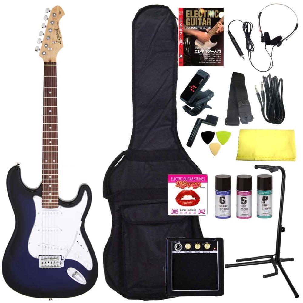 ギター, エレキギター 16Legend LST-Z BBS(Blue Black Sunburst) smtb-TK