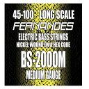 【メール便・送料無料・代引不可】FERNANDES フェルナンデス BS-2000M [45-100] ロングスケール ベース弦【smtb-TK】