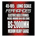 【メール便・送料無料・代引不可】FERNANDES フェルナンデス BS-2000MH [45-105] ロングスケール ベース弦【smtb-TK】