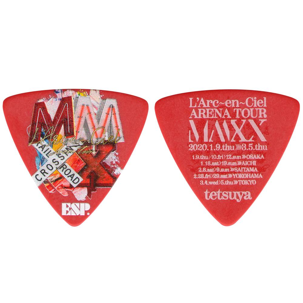 アクセサリー・パーツ, ピック 5ESP PA-LT10-MMXX R RED LArcenCiel ARENA TOUR MMXX tetsuya smtb-TK