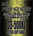 【メール便・送料無料・代引不可】【12セット】FERNANDES/フェルナンデス GS-500XL [09-42] エレキギター弦【smtb-TK】