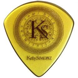 【メール便・送料無料・代引不可】【10枚セット】KellySIMONZ(ケリーサイモン)オリジナルピックKSJZ2-088ウルテムJAZZIIIXL0.88mmKSロゴ【smtb-TK】