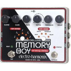 【送料込】【国内正規品】electro-harmonixエレクトロハーモニックスDeluxeMemoryBoyタップテンポ機能搭載アナログ・ディレイ【smtb-TK】
