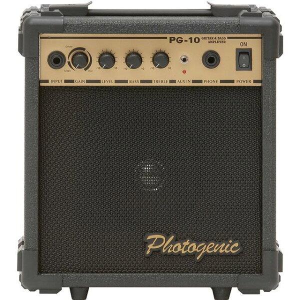 込 Photogenic/フォトジェニックPG10/PG-10ギターアンプ10W smtb-TK