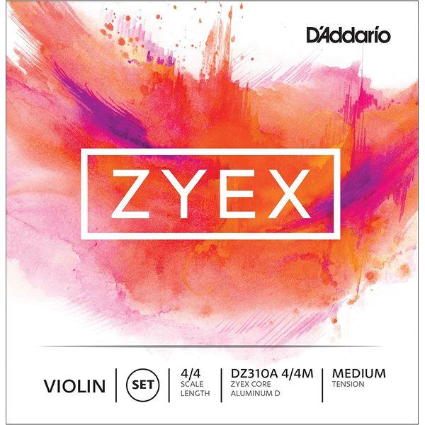 バイオリン用アクセサリー・パーツ, 弦 DAddario DZ310A 44M ZYEX SET ALM D MED