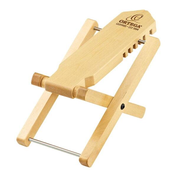 メール便・・代引不可 ORTEGAオルテガOWFS-1NT木製フットストゥールクラシックギター用足台フットスツール smtb-