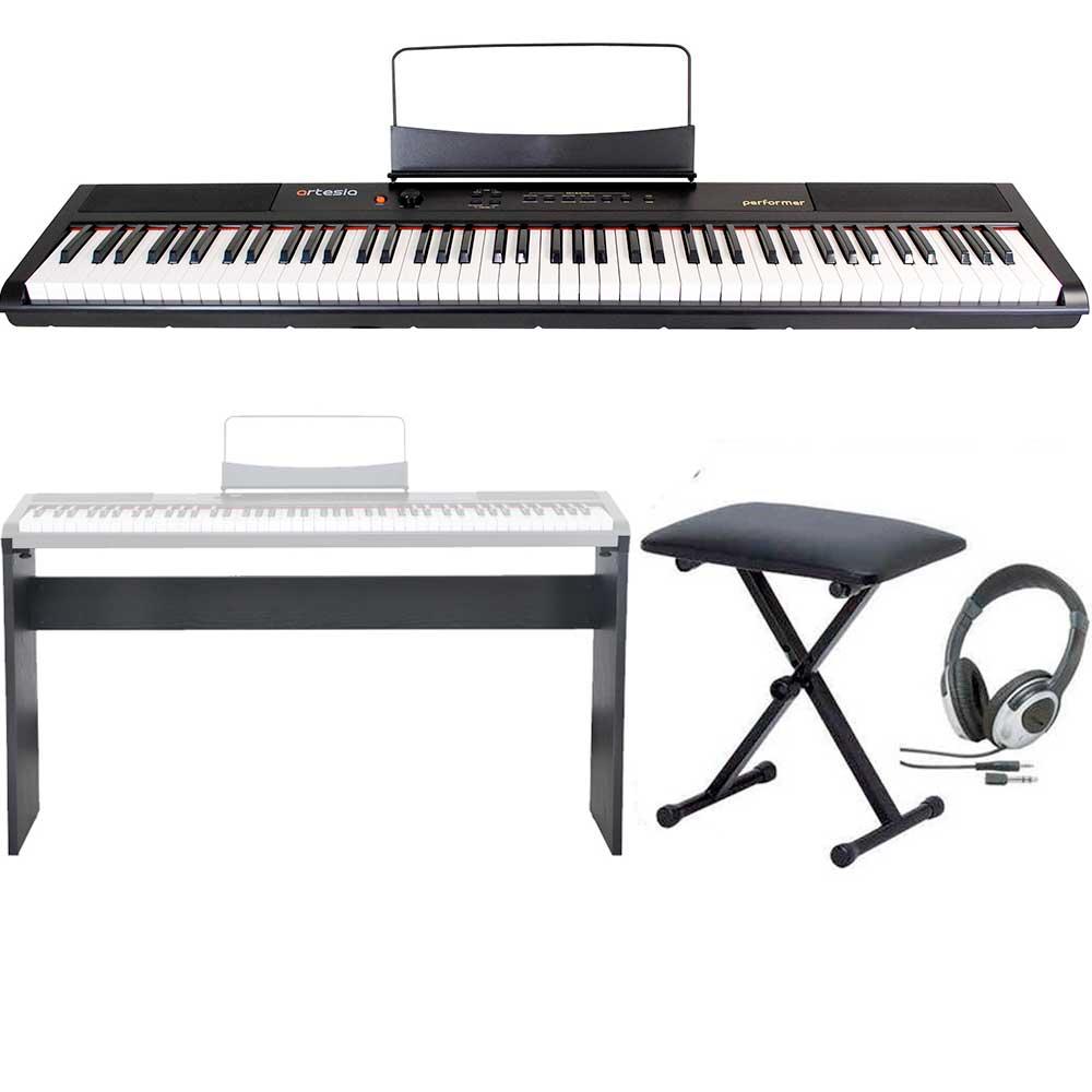 ピアノ・キーボード, 電子ピアノ artesia PerformerBK smtb-TK