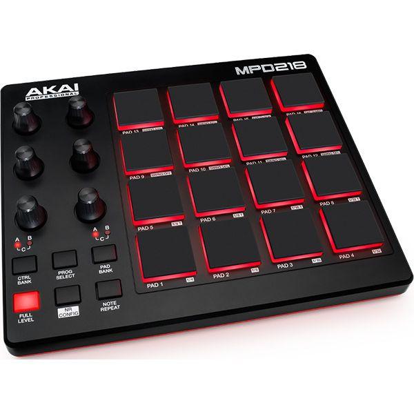 DAW・DTM・レコーダー, MIDIキーボード 3AKAI Professional MPD218 USB - MIDI smtb-TK