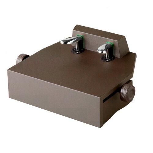 イトマサ ITOMASA P-33 BR(茶色/ブラウン) ピアノ補助ペダル/補助台