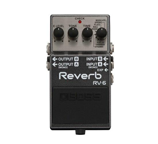 ギター用アクセサリー・パーツ, エフェクター 8BOSS RV-6 Reverb smtb-TK