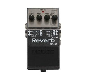 BOSS RV-6 Reverb どこが新しくなったか発売日直前に考えてみる