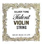 【メール便・送料無料・代引不可】Talent タレント 分数 バイオリン弦セット×1 全音楽譜出版 ZEN-ON ゼンオン【smtb-TK】