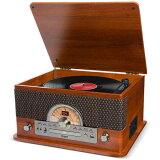 【ポイント3倍】【送料込】ION AUDIO Superior LP Bluetooth搭載 レコード/カセット/CD他 オールインワン・ミュージックプレーヤー ターンテーブル 【smtb-TK】