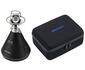 【送料込】【専用キャリングバッグ/CBH-3付】ZOOM ズーム H3-VR 360°Virtual Reality Audio Recorder VRオーディオレコーダー【smtb-TK】