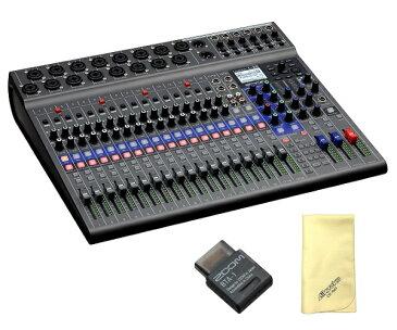 【ポイント5倍】【送料込】【愛曲クロス付】【Bluetoothアダプタ/BTA-1付】ZOOM ズーム LiveTrak L-20 20-Track Live Mixer / Recorder スリーピースも、大編成バンドも【smtb-TK】