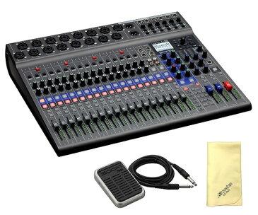 【ポイント5倍】【送料込】【愛曲クロス付】【フットスイッチ/FS01付】ZOOM ズーム LiveTrak L-20 20-Track Live Mixer / Recorder スリーピースも、大編成バンドも【smtb-TK】