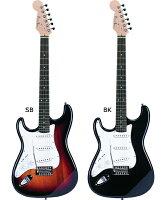【3点セット】ST250LHレフトハンドモデルPhotogenic/フォトジェニックエレキギターストラトタイプ
