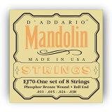 【メール便??代引不可】【5セット】D''Addario/ダダリオ EJ70[11-38] ボールエンド マンドリン弦 フォスファーブロンズ【smtb-TK】