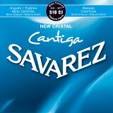 【ポイント2倍】【メール便・送料無料・代引不可】【1セット】SAVAREZ/サバレス 510CJ NEW CRISTAL/CANTIGA クラシックギター弦セット High tension【smtb-TK】