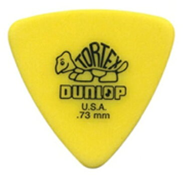 【ポイント2倍】【メール便・送料無料・代引不可】【36枚セット】Dunlop 431 Tortex Triangle 0.73mm トーテックス おにぎり ギター ピック 【smtb-TK】