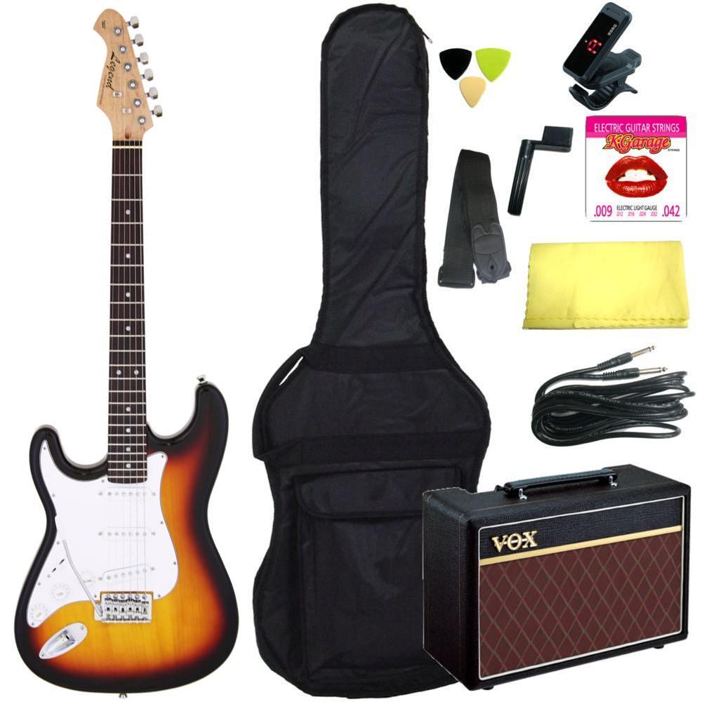 セット, エレキギターセット 10VOXLegend LST-Z LH 3TS(3 Tone Sunburst) smtb-TK