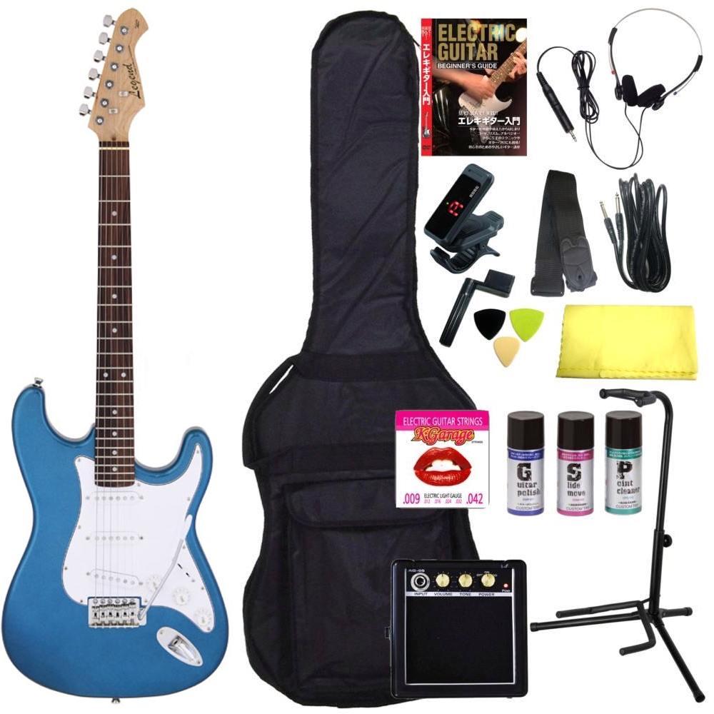 ギター, エレキギター 316Legend LST-Z MBL(Metallic Blue) smtb-TK