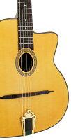 【送料込】【ギグバッグ付】ARIA/アリアMM-20/Oマカフェリスタイルアコースティックギターオーバルタイプ・サウンドホール【smtb-TK】