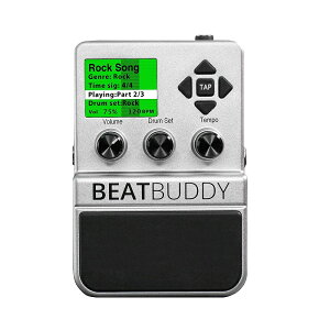 【ご予約商品:4/上旬入荷】【送料込】Singular Sound BeatBuddy ギターペダル型ドラムマシン【s...