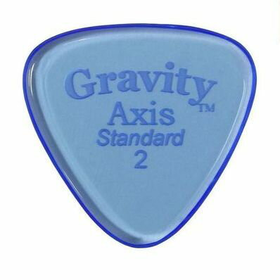 アクセサリー・パーツ, ピック 52GRAVITY GUITAR PICKS GAXS2P Axis -Standard- 2.0mmBlue smtb-TK