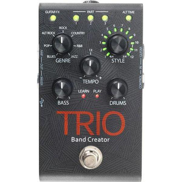 【ポイント2倍】【送料込】DigiTech デジテック TRIO Band Creator リズムマシン ベース&ドラムパートを自動生成【smtb-TK】