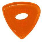 【ポイント5倍】【メール便・送料無料・代引不可】GRAVITY GUITAR PICKS GTRS3PE Tripp -Standard- [3.0mm with Elipse Grip Hole/Orange] アクリル ピック【smtb-TK】