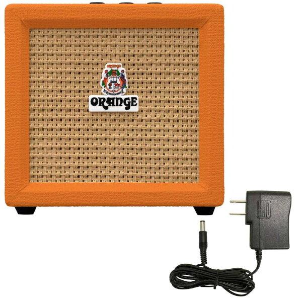 込  汎用ACアダプター付 OrangeオレンジCRUSHMINIスピーカー・アウト搭載3Wミニ・アンプ smtb-TK
